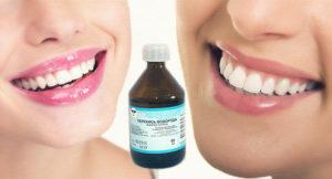 Перекись водорода от запаха изо рта, отзывы