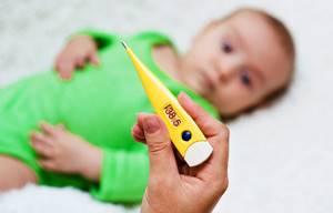Температура при прорезывании зубов: может ли подниматься и почему так происходит, максимальные значения, сколько дней держится, как снизить