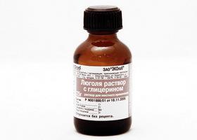Раствор Люголя с глицерином: инструкция по применению