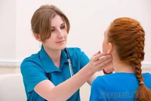 Воспаление лимфоузлов на шее: симптомы, причины, признаки, лечение