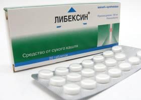 Таблетки Либексин: инструкция по применению, от чего назначают, при каком кашле, обзор отзывов