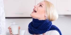Полоскание горла солью и содой, пропорции, как полоскать