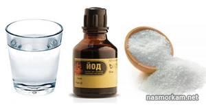 Полоскание горла солью морской, как приготовить солевой раствор