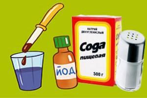 Полоскание горла солью и содой при ангине