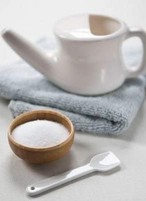 Как развести морскую соль для промывания носа