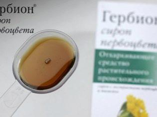 Гербион от влажного кашля: инструкция по применению сиропов, обзор отзывов и аналогов