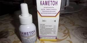 Аэрозоль и спрей Каметон: инструкция по применению для горла и носа