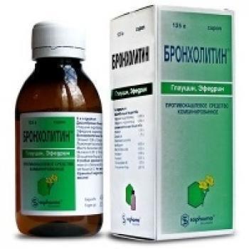 Бронхолитин — инструкция по применению от кашля для детей и взрослых, аналоги, состав, отзывы