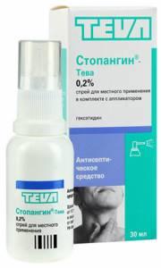 Спрей Антиангин: инструкция по применению для горла, отзывы