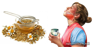 Сколько надо соды для полоскания горла при ангине